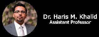 Dr. Haris M Khalid